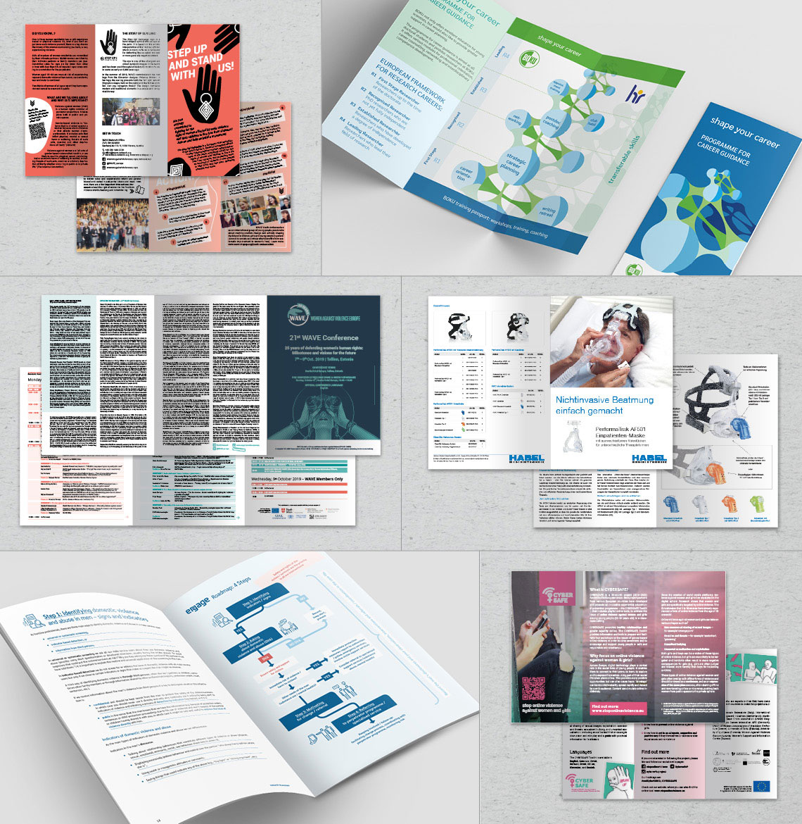 graphic design for print and promotion
